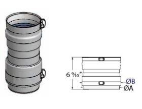 M&G DuraVent FasNSeal Flexible Vent Female Adapter - FSA-10F-FNSM