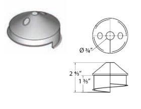 """M&G DuraVent 12"""" Ventinox Installation Cone - VIC-12"""