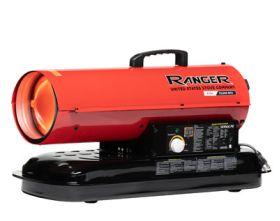 Ranger R75K 75,000 BTU Kerosene / Diesel Forced Air Heater