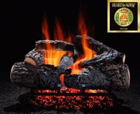 "Hargrove 36"" Cross Timbers Log Set - See Thru - Propane - CTS36STP"