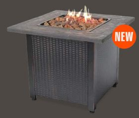 Fireplaces Oudoor Fireplaces Uniflame Lp Gas Outdoor Fireplace