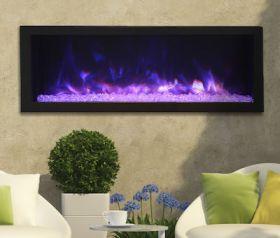Remii 45 Deep Indoor or Outdoor Electric Built-In Fireplace - 102745-DE