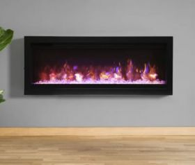 Remii 42 Basic Clean-Face Electric Built-In Fireplace - WM-42-B