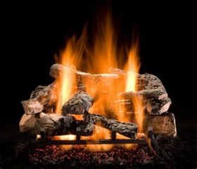 "Hargrove 30"" Rustic Timbers Log Set - See Thru -Natural Gas- RTS30ST"
