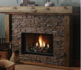 Kingsman Direct Vent Decorative Gas Fireplace - IPI - HBZDV3624LPE