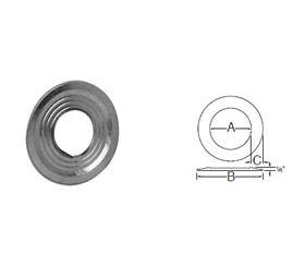 Selkirk 5'' RV Pipe Collar - Galv. - 105460 - 5RV-GC