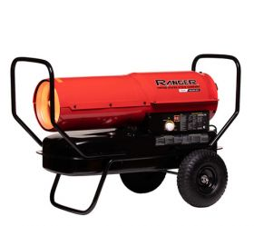 Ranger R125K 125,000 BTU Kerosene / Diesel Forced Air Heater