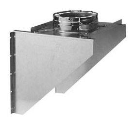 Metal-Fab Temp Guard Wall Support, Adjustable - 6TGAWS