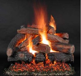 "Rasmussen 24"" TimberFire Log Set - Single Face - PH24"