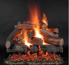 "Rasmussen 42"" TimberFire Log Set - Double Face - PH42"