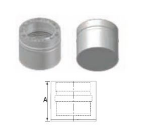 M&G DuraVent 12'' FasNSeal W2 Double Wall Tee Cap- W2-TC12 // W2-TC12