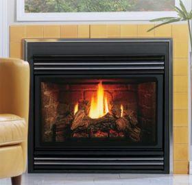 Kingsman Direct Vent Back Flue Gas Fireplace Heater - MV - ZDV3624NB