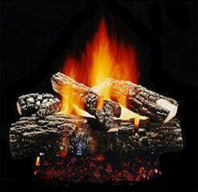 "Hargrove 18""Blazing Pecan Log Set - BPS18"