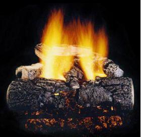 "Hargrove 21"" Magnificent Inferno Log Set - See Thru -Natural- MIS21ST"