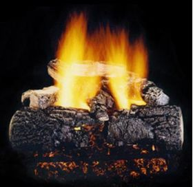 "Hargrove 21"" Magnificent Inferno Log Set -See Thru-Propane- MIS21STP"