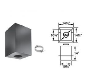 DuraVent 3 PelletVent Cathedral Ceiling Support Box - 3PVL-CS