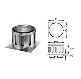 "M&G DuraVent 12"" DuraChimney II 12"" Diameter Anchor Plate - 12DCA-AP"