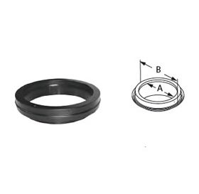 """M&G DuraVent 12"""" DuraTech Finishing Collar - 12DT-FC"""