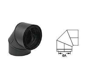 Mg Duravent 8 Cas Duratech 90 Degree Triple Wall Stove Pipe Elbow