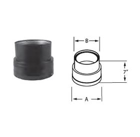 "M&G DuraVent 7"" DVL Reducer 7""-6"" - 7DVL-X6"