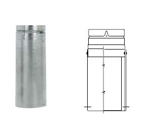 Selkirk 5'' RV EZ AJ 18'' Adjustable Length - 105090 - 5RV-EZAJ18