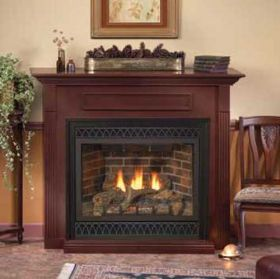 Fireplaces Gas Fireplaces Empire Madison Deluxe Dv