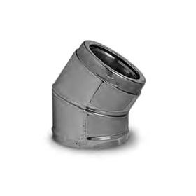 Security Chimneys 5'' Secure Temp ASHT Insulated Elbow 30 Degree - 5E30