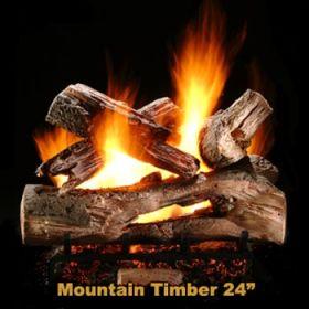 "Hargrove 24"" Mountain Timber Log Set - MTS24"