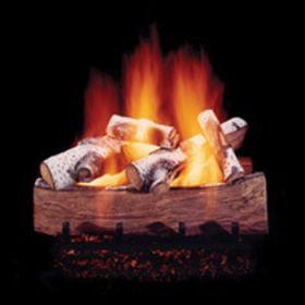 "Hargrove 18"" Mountain Aspen Log Set - See Thru -Natural Gas- MAS18ST"