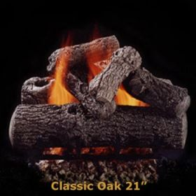 "Hargrove 21"" Classic Oak Log Set - See Thru - Natural Gas - CLS21ST"