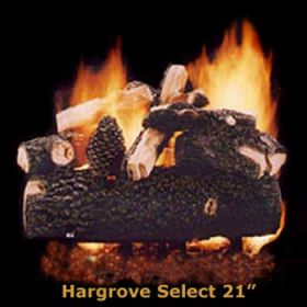 "Hargrove 21"" Hargrove Select Log Set - See Thru -Natural Gas- HSS21ST"