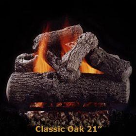 "Hargrove 21"" Classic Oak Log Set - See Thru - Propane - CLS21STP"