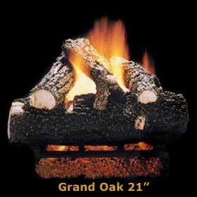 """Hargrove 21"""" Grand Oak Log Set - See Thru - Propane - GOS21STP"""