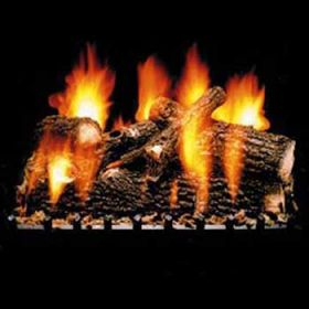 "Hargrove 24"" Full Pan Vented Oak Log Set - OOS2406FP"
