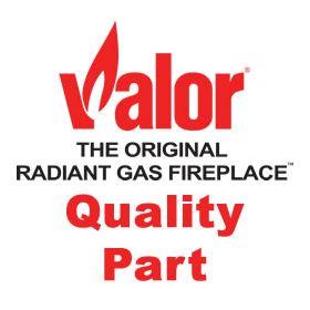 Parts Valor Fireplaces Part For Valor Burner Baffle Rev 2