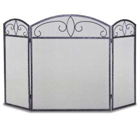 Napa Forge 3 Panel Forged Crest Screen - Brushed Graphite - 19233