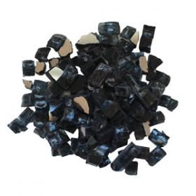 Amantii / Sierra Flame Decorative Fire Glass - Charcoal Color - AMSF-GLASS-03