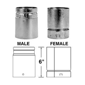 Selkirk 5'' RV Universal Adapter - Male - 105081 - 5RV-UAM