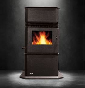 Hudson River Stone Works Kinderhook Freestanding Pellet Stove - HRK-FS