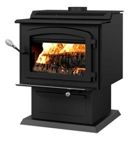 Stoves Wood Stoves Drolet Ht 3000 Wood Stove Extra