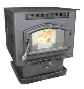 US Stove Company 6041 Pellet or Corn Stove on Pedestal w/Igniter