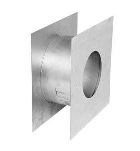 "Metal-Fab Corr/Guard 4"" D Double Wall, Wall Penetration Kit - 4CGWPK3"