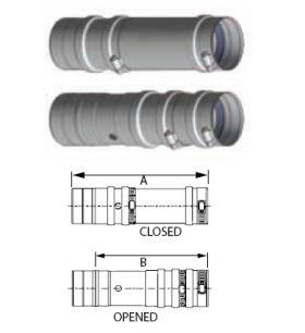 M&G DuraVent 10'' FasNSeal Test Port - FSTP10 // FSTP10