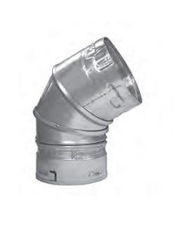 Metal-Fab B-Vent 60 Degree Adjustable Elbow - 3M45/60