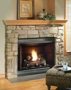 Kingsman Gas Fireplace Heater - Millivolt - Propane - ZDV3318LP