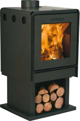 Bosca Wood Stove - Limit 450 Pedastal - BCWL450