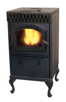 Magnum Baby Countryside Biomass, Corn, Wood Pellet Stove - BC-AC
