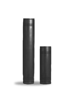 Security Chimneys 6'' DL Pipe Length 12'' - 6DL12