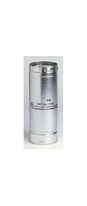 Metal-Fab B-Vent 3' Pipe Length - 12M3