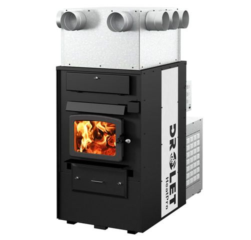 furnaces wood furnaces drolet heatpro wood furnace df03000 rh woodstovepro com wood burning stove vs furnace wood burner stove furnace